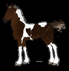1619 Foal Design (Recreation) by TheBlackAlicorn