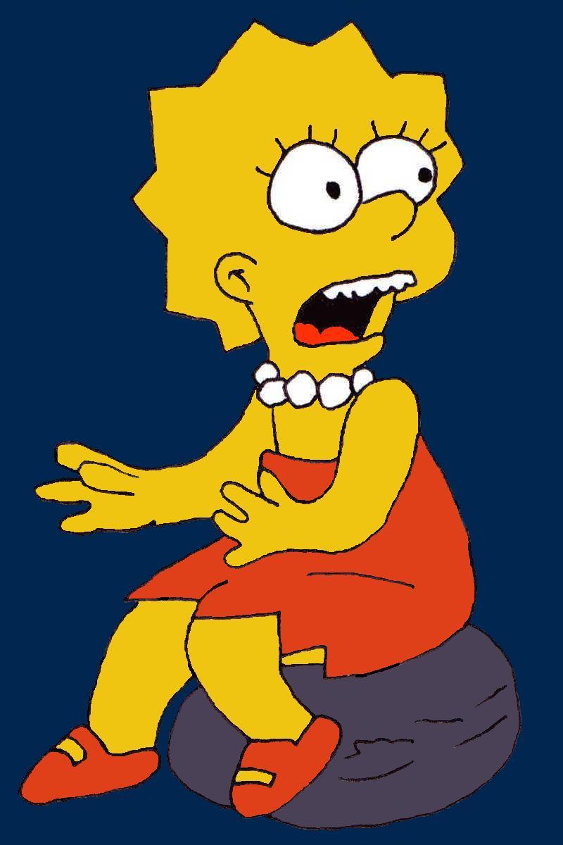 Lisa Simpson by dragonlorest