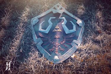 Hylian Shield (Legend of Zelda) by AudentiaGuild