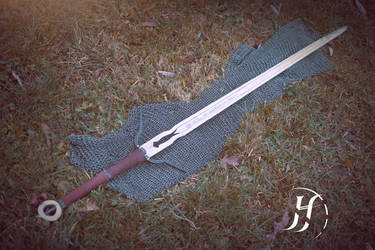 'Zireael' - Ciri's sword from The Witcher 3 by AudentiaGuild