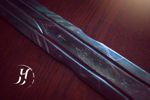 'Maeglin' - an elven longsword - detail #1