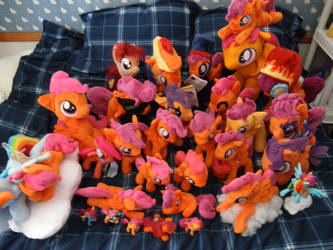 Scootaloo Swarm! by DeadParrot22