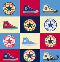 Converse All Star Pop by SjoerdB