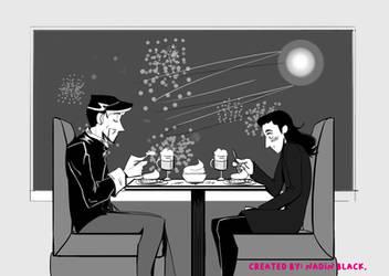 Strange Tales Cafe by Nadin-Black