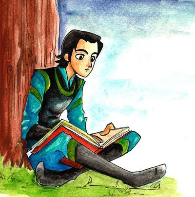 Reading by Nadin-Black