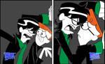Cerebro vs Dexter by Nadin-Black