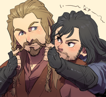 Fili and Kili by vilava