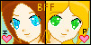 ME AND MAH BFF LINKED ICONS 8D by Skelio