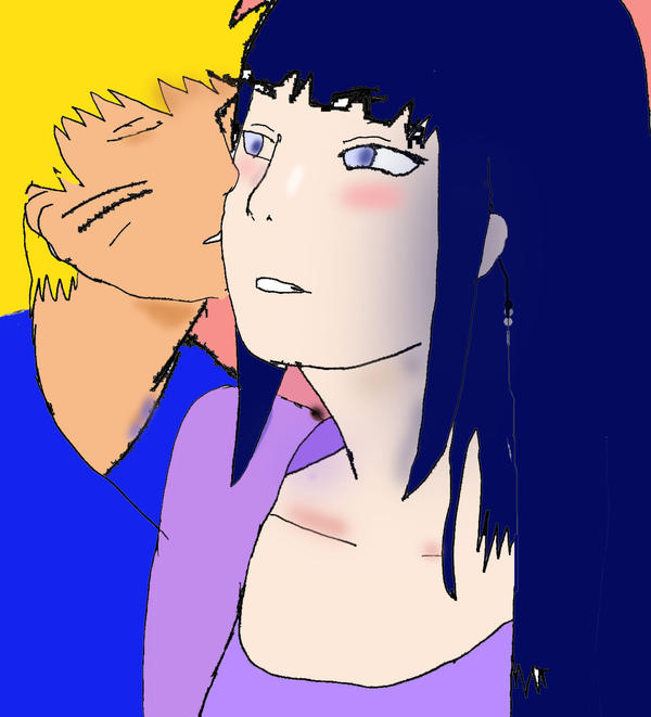 Naruhina: Gentle Kiss By M-Vee On DeviantArt