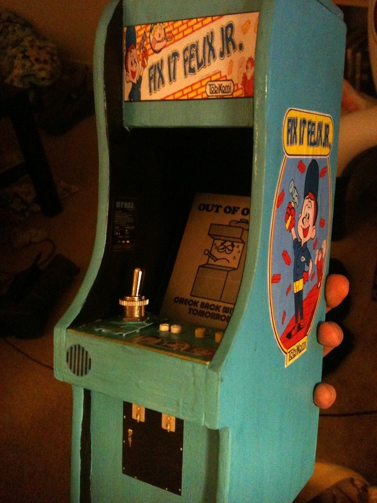 Fix it Felix Jr. Cabinet by Grim-Tales on DeviantArt
