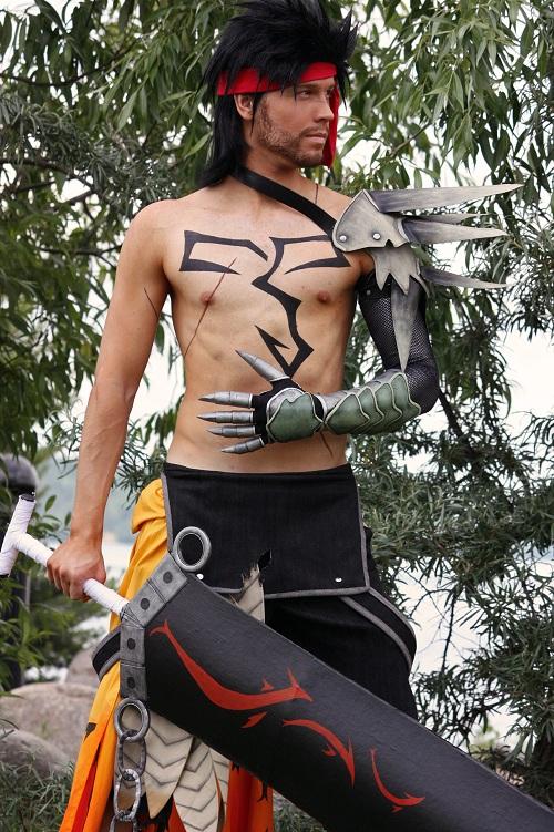 Jecht from Final Fantasy Dissidia by Elffi