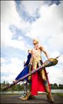 Gilgamesh and Saber - Fate Series