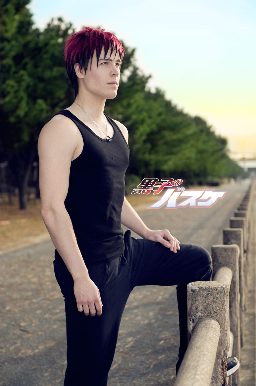 Taiga Kagami - Jogging at sunset! by Elffi