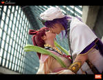 Sinbad and Kougyoku - Magi - Love is in the air
