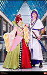 Sinbad and Kougyoku - Magi
