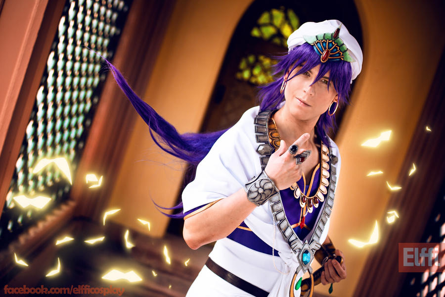 Sinbad  - The King of Sindria - Magi - Cosplay by Elffi