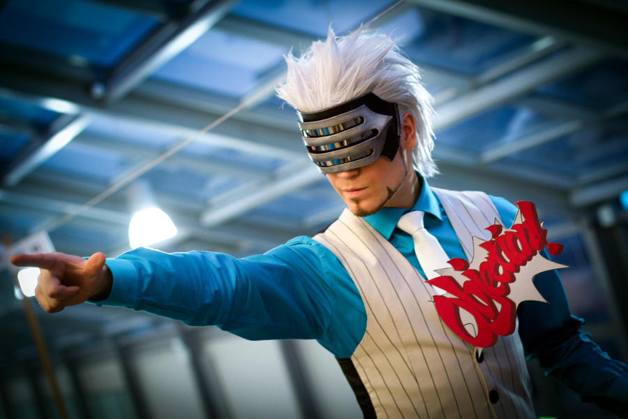 Godot - Ace Attorney - Cosplay vol.2 by Elffi