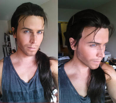 Yasuo - League of Legends - Wig and makeup test