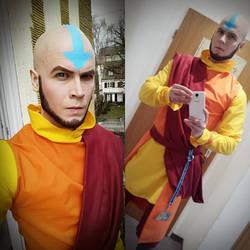 Adult Aang - Avatar - Cosplay