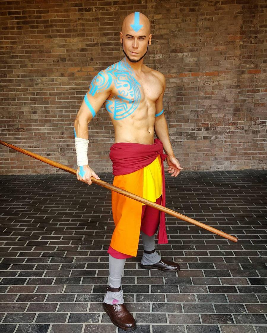 Adult Aang - Avatar The Last Airbender Cosplay By Elffi On Deviantart-2917