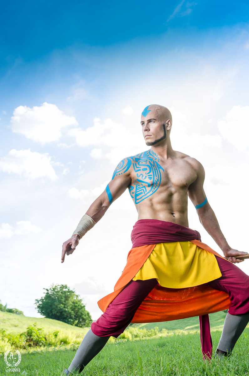Adult Aang Avatar The Last Airbender Cosplay By Elffi On