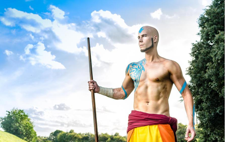 Adult Aang - Avatar The Last Airbender (Cosplay) by Elffi
