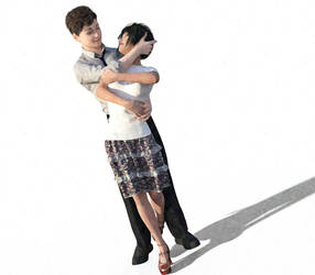 Kimoto and Rai 1.4 by Betting-On-Love