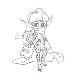 Key Thief Girl by DrugsForRobots