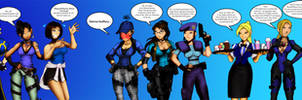 RE Ladies in Blue part 6 by andre4boys