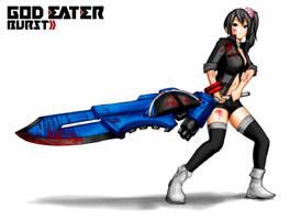 GOD EATER Burst - char by Erkaz