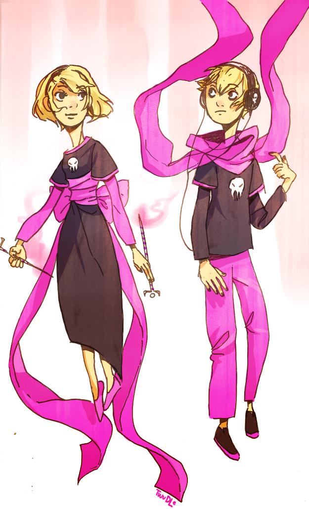 A pair of roses by mangoranger
