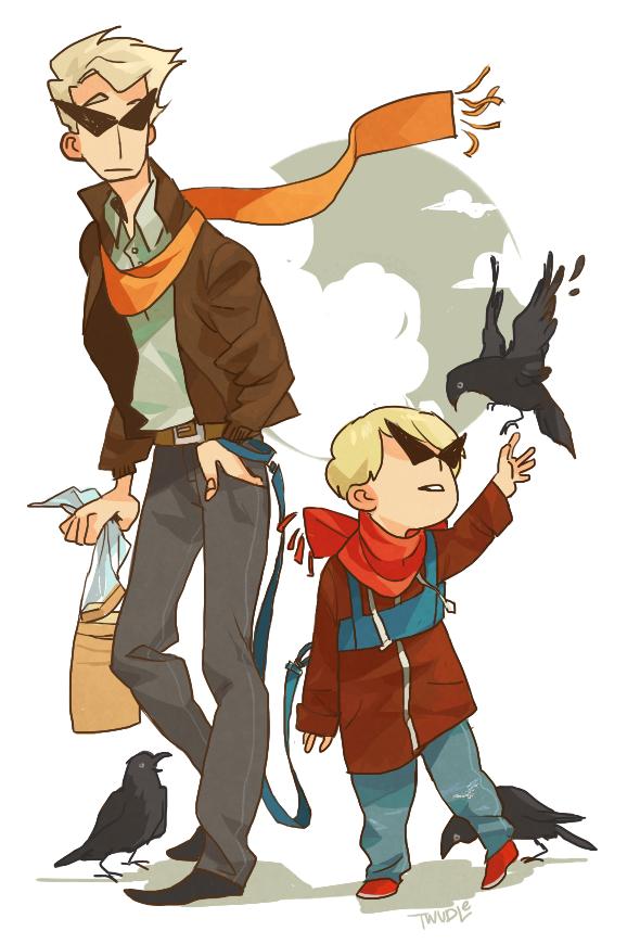 Adventures of Bro and lil bro 4 by mangoranger