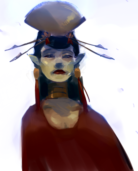 faraway queen by mangoranger
