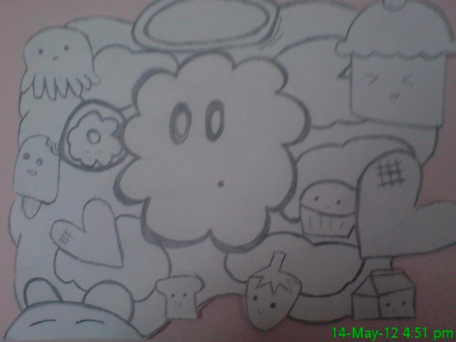 cute random drawing by xxanimeftwxx on deviantart