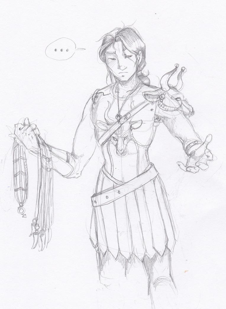 Dionsiya in Kairatos Armor by xaotl