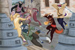 Search for the Arcanum - Part 2 Battle 1 vs Tail by xaotl