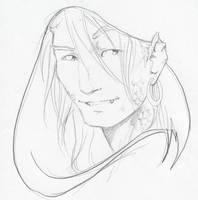 Aiden McCallahan: Half Dragon by xaotl