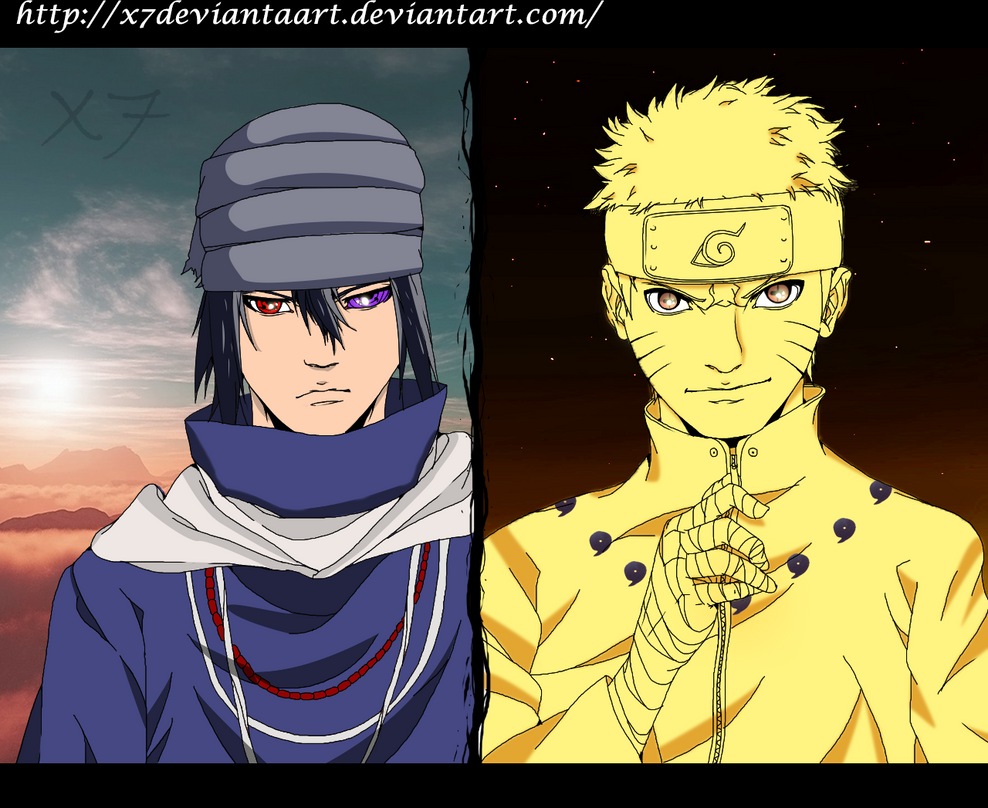 The Last Movie Naruto And Sasuke By X7DeviantaArt by ...