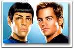 Spock and Kirk Portrait