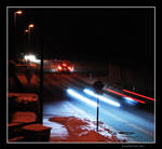 Winter Traffic by Ravensilver