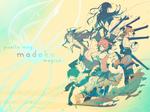 Madoka Magica - Wallpaper
