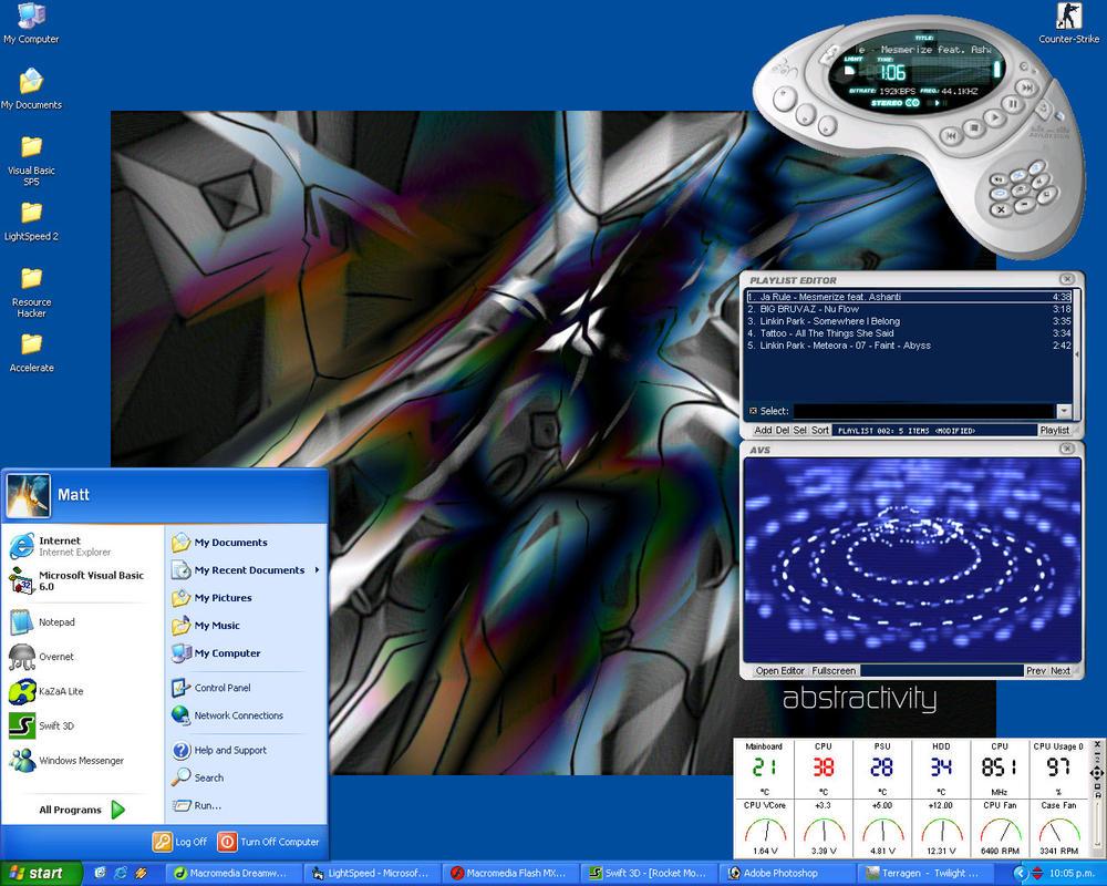 Mattz Devious Desktopy by rel