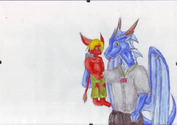 Avalon und Nikko by Avalon-the-Dragon
