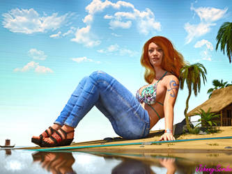 Nami's Island by Johnnyscribe