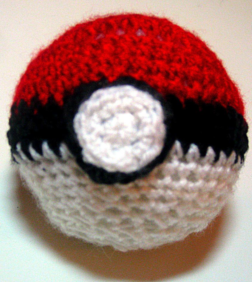 Amigurumi Pokemon Ball : Poke-Ball Amigurumi by viando8 on DeviantArt