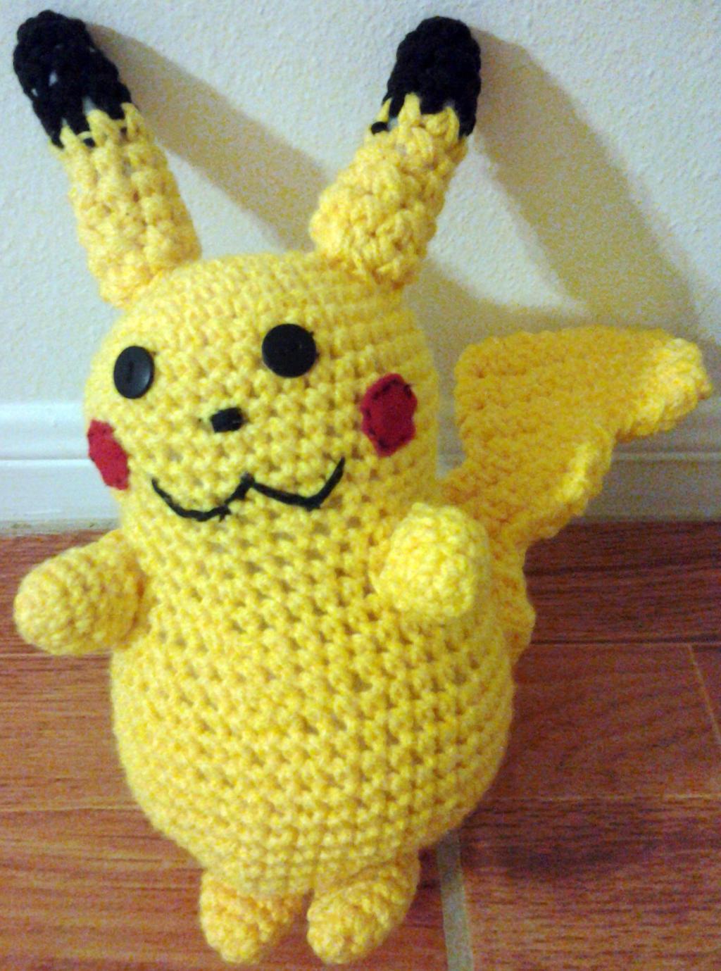 Pikachu Amigurumi by viando8 on DeviantArt