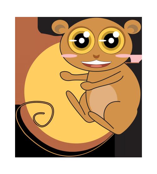 tarsier cartoon | Adultcartoon.co