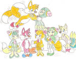Tails and Cosmo's family
