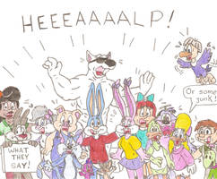 Tiny Toons' cry by Jose-Ramiro