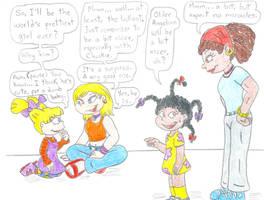 Rugrats meet All Grown Up by Jose-Ramiro